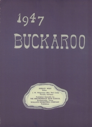 Page 7, 1947 Edition, Breckenridge High School - Buckaroo Yearbook (Breckenridge, TX) online yearbook collection