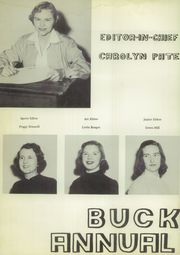 Page 8, 1954 Edition, Breckenridge High School - Buckaroo Yearbook (Breckenridge, TX) online yearbook collection