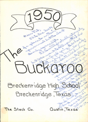 Page 7, 1956 Edition, Breckenridge High School - Buckaroo Yearbook (Breckenridge, TX) online yearbook collection