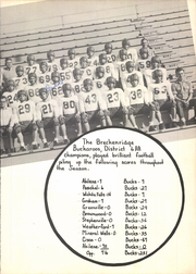 Page 81, 1956 Edition, Breckenridge High School - Buckaroo Yearbook (Breckenridge, TX) online yearbook collection