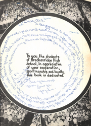Page 9, 1956 Edition, Breckenridge High School - Buckaroo Yearbook (Breckenridge, TX) online yearbook collection