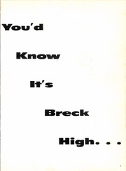Page 5, 1959 Edition, Breckenridge High School - Buckaroo Yearbook (Breckenridge, TX) online yearbook collection