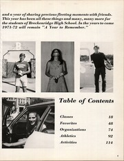 Page 9, 1972 Edition, Breckenridge High School - Buckaroo Yearbook (Breckenridge, TX) online yearbook collection