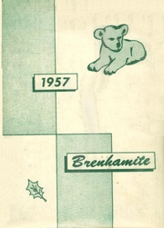 Page 1, 1957 Edition, Brenham High School - Brenhamite Yearbook (Brenham, TX) online yearbook collection