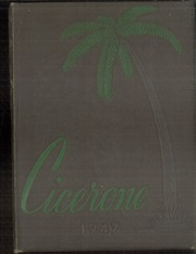 1947 Edition, Ennis High School - Cicerone Yearbook (Ennis, TX)