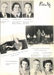 Page 15, 1950 Edition, Ennis High School - Cicerone Yearbook (Ennis, TX) online yearbook collection
