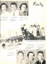 Page 17, 1950 Edition, Ennis High School - Cicerone Yearbook (Ennis, TX) online yearbook collection