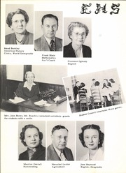 Page 16, 1951 Edition, Ennis High School - Cicerone Yearbook (Ennis, TX) online yearbook collection