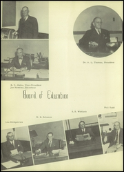 Page 12, 1952 Edition, Ennis High School - Cicerone Yearbook (Ennis, TX) online yearbook collection