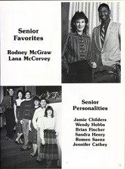 Page 15, 1986 Edition, Ennis High School - Cicerone Yearbook (Ennis, TX) online yearbook collection