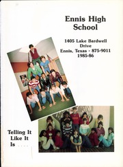 Page 5, 1986 Edition, Ennis High School - Cicerone Yearbook (Ennis, TX) online yearbook collection