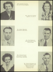 Page 13, 1950 Edition, Thomas A Edison High School - Spark Yearbook (San Antonio, TX) online yearbook collection