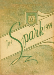 Thomas A Edison High School - Spark Yearbook (San Antonio, TX) online yearbook collection, 1954 Edition, Page 1