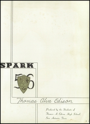 Page 7, 1956 Edition, Thomas A Edison High School - Spark Yearbook (San Antonio, TX) online yearbook collection