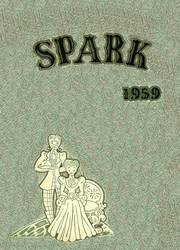Thomas A Edison High School - Spark Yearbook (San Antonio, TX) online yearbook collection, 1959 Edition, Page 1