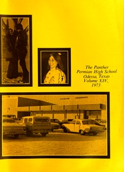 Page 5, 1973 Edition, Permian High School - Panther Yearbook (Odessa, TX) online yearbook collection