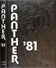 1981 Edition, Permian High School - Panther Yearbook (Odessa, TX)