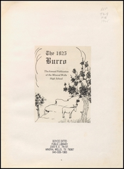 Page 9, 1925 Edition, Mineral Wells High School - Burro Yearbook (Mineral Wells, TX) online yearbook collection