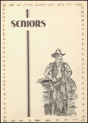 Page 15, 1937 Edition, Mineral Wells High School - Burro Yearbook (Mineral Wells, TX) online yearbook collection