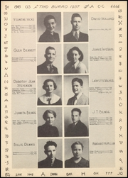 Page 17, 1937 Edition, Mineral Wells High School - Burro Yearbook (Mineral Wells, TX) online yearbook collection