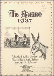 Page 5, 1937 Edition, Mineral Wells High School - Burro Yearbook (Mineral Wells, TX) online yearbook collection