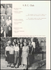 Page 74, 1951 Edition, Mineral Wells High School - Burro Yearbook (Mineral Wells, TX) online yearbook collection