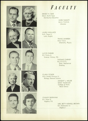 Page 12, 1953 Edition, Mineral Wells High School - Burro Yearbook (Mineral Wells, TX) online yearbook collection