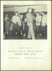 Page 7, 1953 Edition, Mineral Wells High School - Burro Yearbook (Mineral Wells, TX) online yearbook collection
