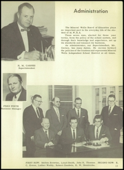 Page 17, 1958 Edition, Mineral Wells High School - Burro Yearbook (Mineral Wells, TX) online yearbook collection