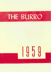 Page 1, 1959 Edition, Mineral Wells High School - Burro Yearbook (Mineral Wells, TX) online yearbook collection