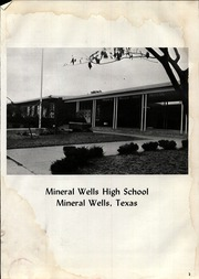 Page 7, 1967 Edition, Mineral Wells High School - Burro Yearbook (Mineral Wells, TX) online yearbook collection