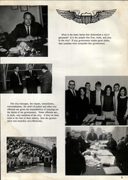 Page 9, 1967 Edition, Mineral Wells High School - Burro Yearbook (Mineral Wells, TX) online yearbook collection