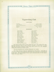 Page 86, 1925 Edition, Texas High School - Tiger Yearbook (Texarkana, TX) online yearbook collection