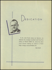 Page 11, 1945 Edition, Texas High School - Tiger Yearbook (Texarkana, TX) online yearbook collection