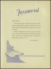 Page 9, 1945 Edition, Texas High School - Tiger Yearbook (Texarkana, TX) online yearbook collection