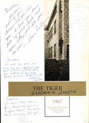 Page 5, 1967 Edition, Texas High School - Tiger Yearbook (Texarkana, TX) online yearbook collection