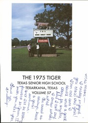 Page 5, 1975 Edition, Texas High School - Tiger Yearbook (Texarkana, TX) online yearbook collection