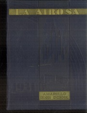 Amarillo High School - La Airosa Yearbook (Amarillo, TX) online yearbook collection, 1931 Edition, Page 1