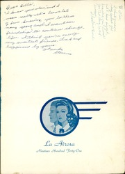 Page 5, 1941 Edition, Amarillo High School - La Airosa Yearbook (Amarillo, TX) online yearbook collection