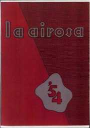 Page 1, 1954 Edition, Amarillo High School - La Airosa Yearbook (Amarillo, TX) online yearbook collection