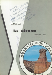 Page 5, 1960 Edition, Amarillo High School - La Airosa Yearbook (Amarillo, TX) online yearbook collection