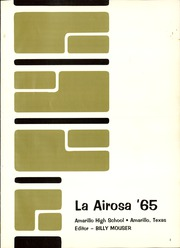 Page 5, 1965 Edition, Amarillo High School - La Airosa Yearbook (Amarillo, TX) online yearbook collection