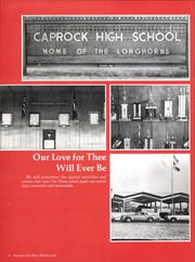 Page 14, 1979 Edition, Caprock High School - La Saga Yearbook (Amarillo, TX) online yearbook collection