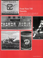 Page 15, 1979 Edition, Caprock High School - La Saga Yearbook (Amarillo, TX) online yearbook collection