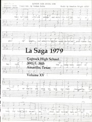 Page 7, 1979 Edition, Caprock High School - La Saga Yearbook (Amarillo, TX) online yearbook collection