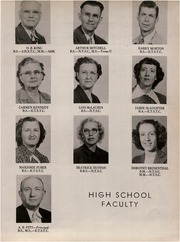 Page 13, 1950 Edition, Canton High School - Eagle Yearbook (Canton, TX) online yearbook collection