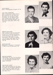 Page 13, 1956 Edition, Canton High School - Eagle Yearbook (Canton, TX) online yearbook collection