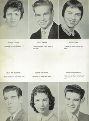Page 14, 1958 Edition, Canton High School - Eagle Yearbook (Canton, TX) online yearbook collection