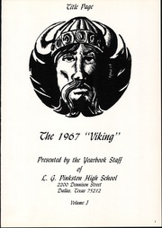 Page 5, 1967 Edition, L G Pinkston High School - Viking Yearbook (Dallas, TX) online yearbook collection