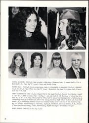 Orangefield High School - Bobcat Trails Yearbook (Orangefield, TX) online yearbook collection, 1973 Edition, Page 42